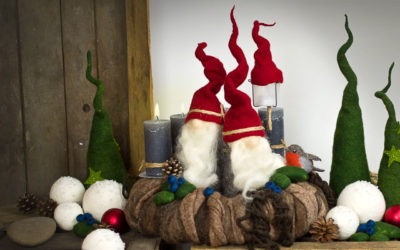 Adventskranz – Team Tomte