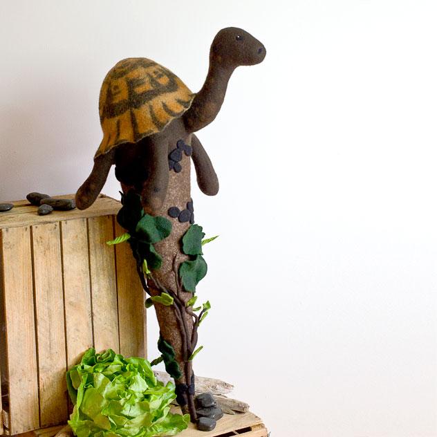 Schultüte | Schildkröte. Filzdesign von Doris Niestroj, handgefertigt.