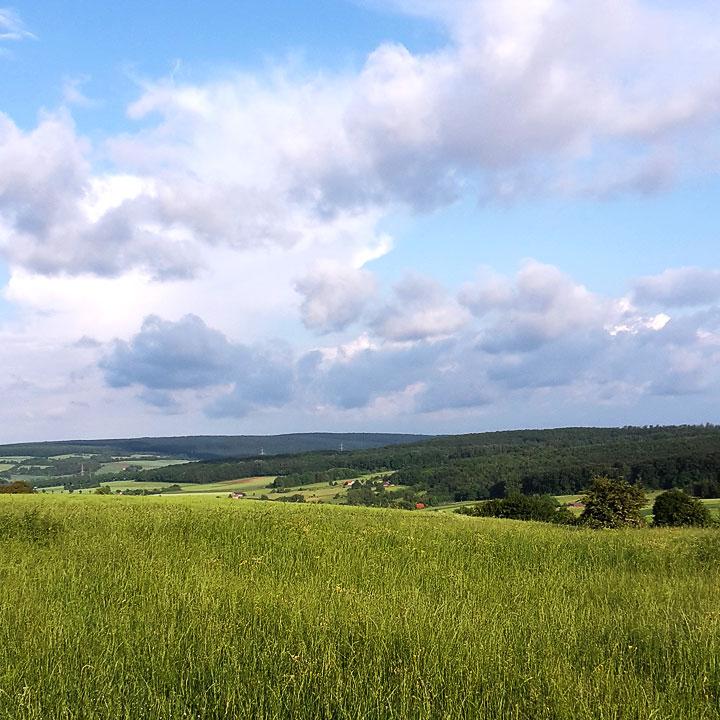 Landschaft Weserbergland