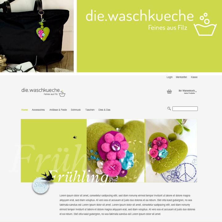 Onlineshop die.waschkueche. Doris Niestroj Filz & Form.